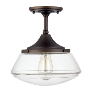 Savane 1 Light Semi Flush Mount