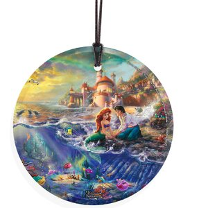 Thomas Kinkade (The Little Mermaid) StarFire Prints Wall Du00e9cor
