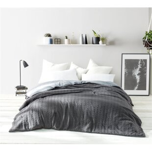 Fitz Cable Knit Comforter