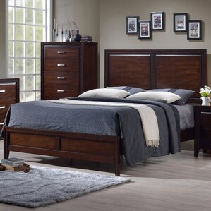 Barwood Panel Bed by Simmons Casegoods by Alcott Hill