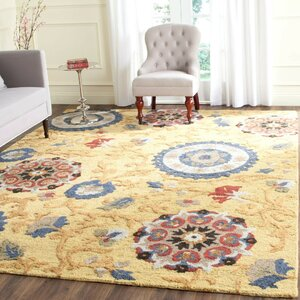Abrahamic Hand-Tufted Area Rug