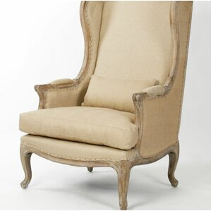 Eira Wingback Chair by One Allium Way