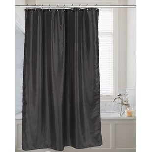 Black And Tan Shower Curtain