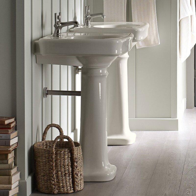 "K-2338-8-K-2338-1-0,K-2338-1-33,K-2338-1-47 Kohler Bancroft® Ceramic on kohler bathroom faucets, kohler devonshire pedestal sink, kohler toilets, lowe's bathroom pedestal sinks, extra large pedestal sinks, black pedestal bathroom sinks, decorating bathrooms with pedestal sinks, 19"" deep pedestal sinks, modern bathroom pedestal sinks, kohler brand sinks, danze pedestal sinks, elkay bathroom pedestal sinks, shop bathroom sinks, moen bathroom pedestal sinks, kohler mini pedestal sink, garage bathroom sinks, kohler bathroom towel racks, kohler bathroom bathtubs, kohler bathroom design, gerber bathroom pedestal sinks,"