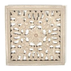 Indian Wall Decor found object idella indian wooden panel wall decor & reviews | wayfair