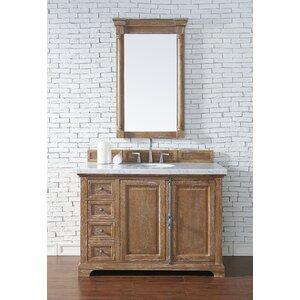 Belhaven 48 Single Driftwood Bathroom Vanity Set with Drawers