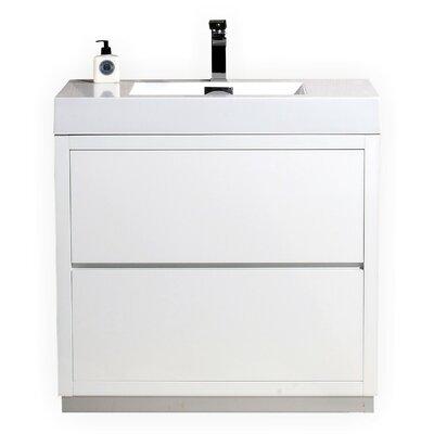Modern Single Bathroom Vanities Allmodern
