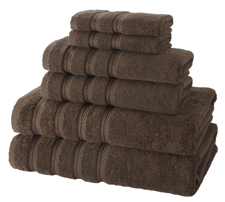 Makroteks Textile L L C Antalya 6 Piece Turkish Cotton Towel Set