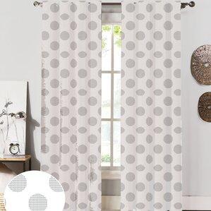 dotted swiss curtains | wayfair