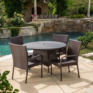 Round Patio Dining Sets Patio Dining Furniture Wayfair