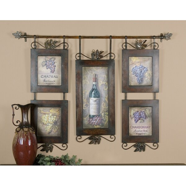 Beautiful Darby Home Co Hanging Wine Wall Décor U0026 Reviews | Wayfair