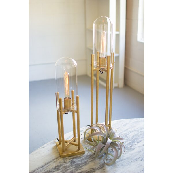 Williston Forge Morgana Glass Dome Table Lamp U0026 Reviews | Wayfair