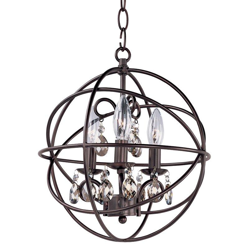 Alden 3 Light Globe Chandelier Reviews