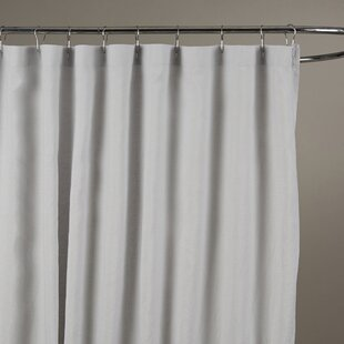 Sheer Linen Shower Curtain