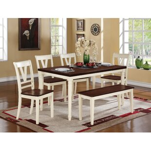 Save  sc 1 st  Wayfair : kitchen table set with bench - pezcame.com