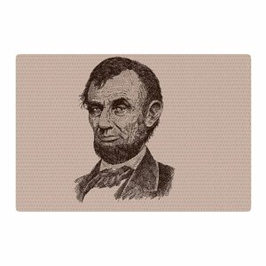 BarmalisiRTB Abraham Lincoln Vintage Brown Area Rug