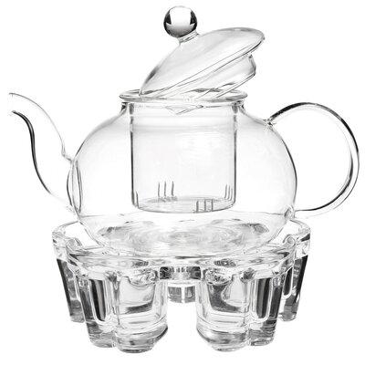 Troche Filtering 0.8 qt. Glass Teapot Winston Porter