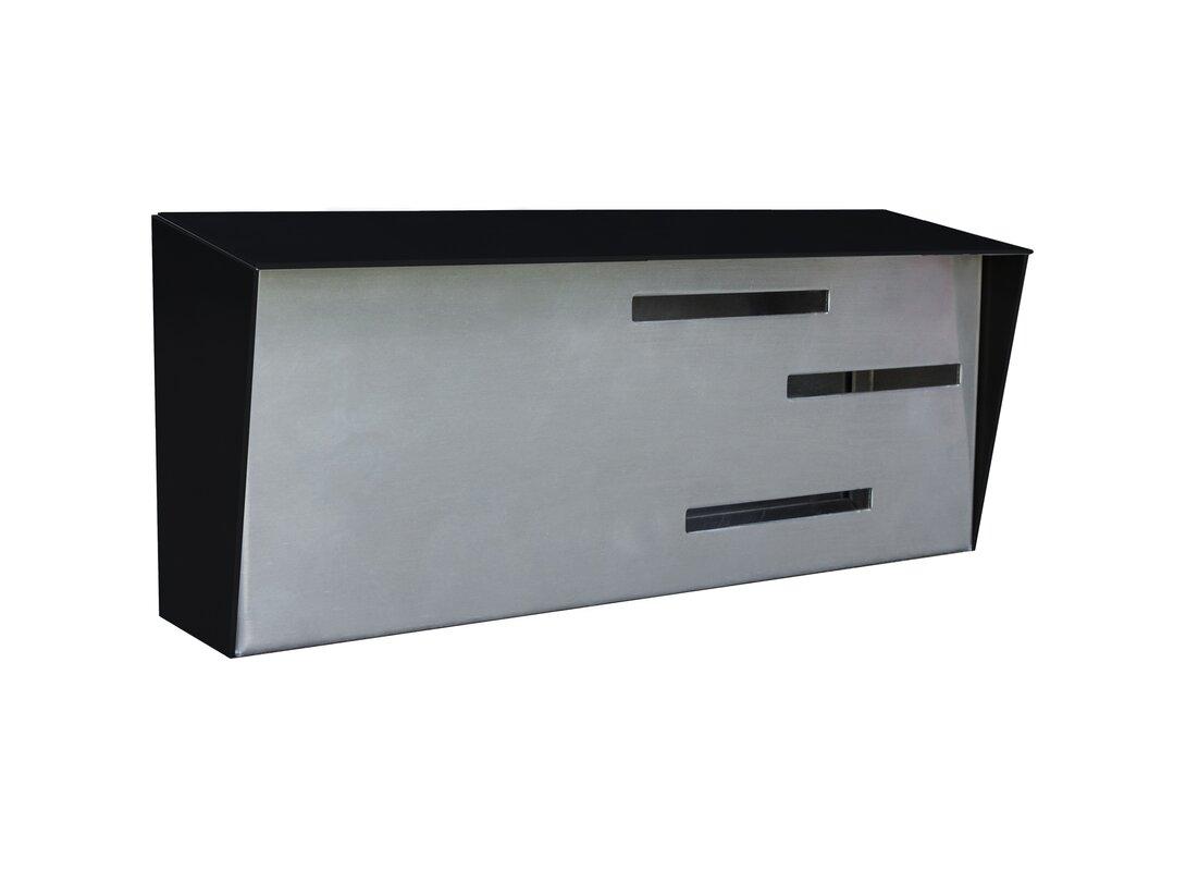 modern wall mount mailbox. Modern Wall Mounted Mailbox Mount N