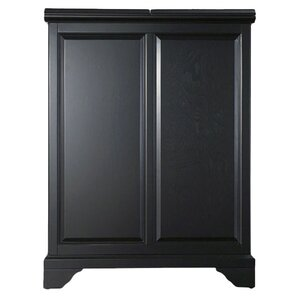 abbate bar cabinet black