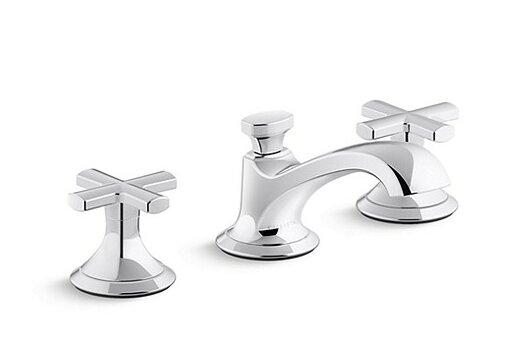 Kallista Script Widespread Bathroom Faucet With Drain Assembly