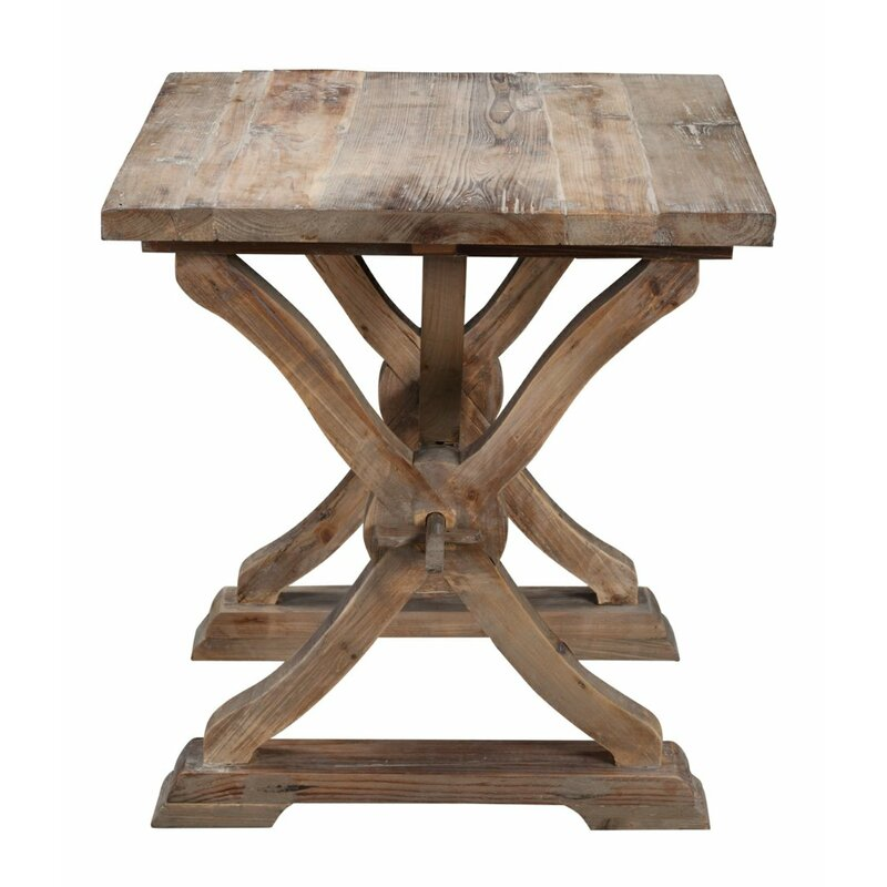 Merveilleux Canterbury Reclaimed Wood End Table