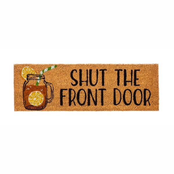 Farmhouse Front Door Mat | Wayfair