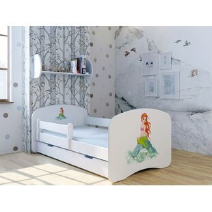 Mermaid Cabin Bed with Mattress and Drawer by Möbel Concept