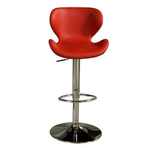 Cagliari Adjustable Height Swivel Bar Stool by Impacterra