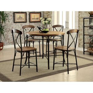 Neeley 5 Piece Dining Set by Darby Home Co