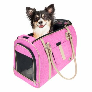d7255fd53ea Heyman Soft Airline Approved Stylish Pet Carrier