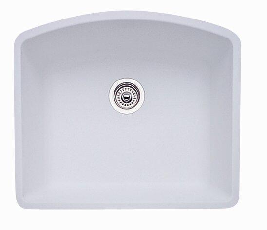 diamond 24   x 20 81   single bowl undermount kitchen sink blanco diamond 24   x 20 81   single bowl undermount kitchen sink      rh   wayfair com