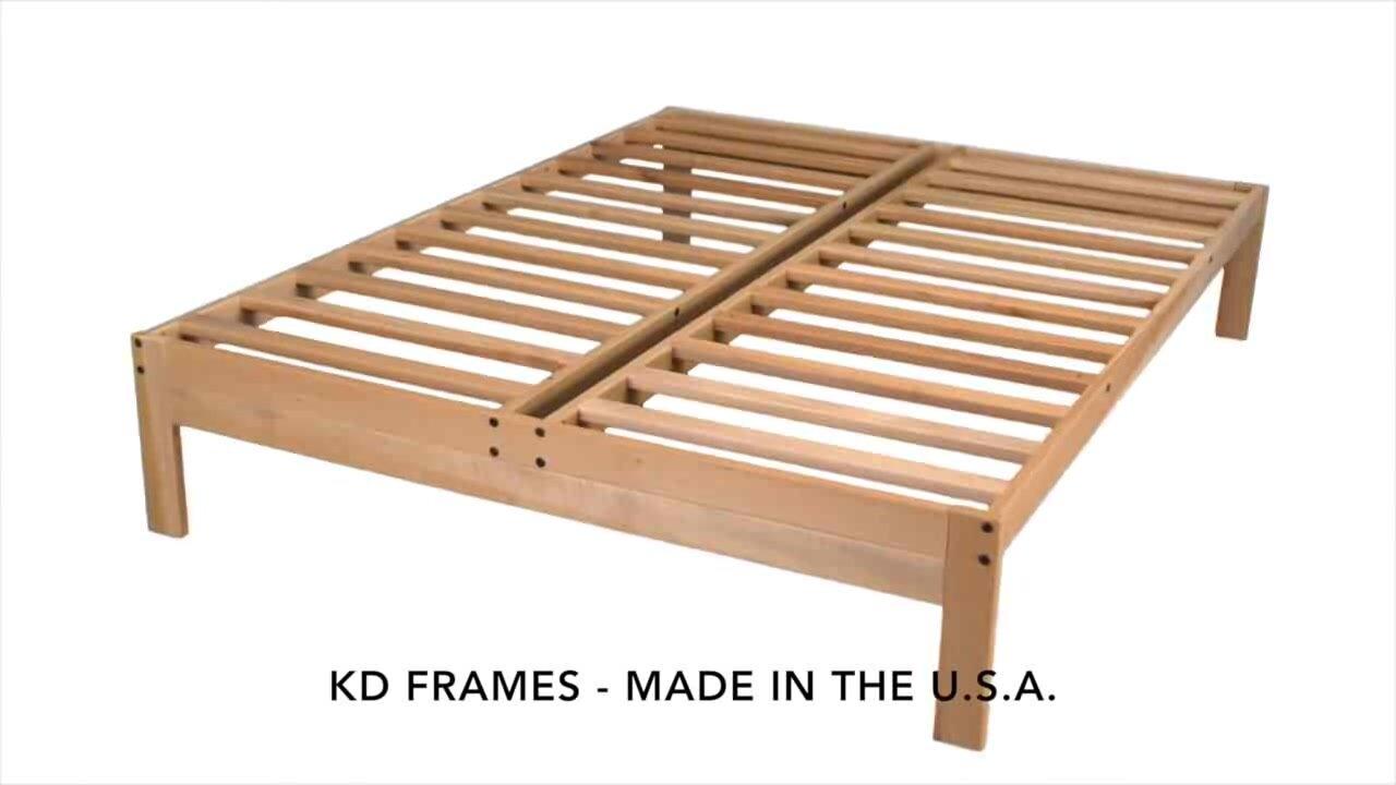 Wayfair Queen Bed Platform Wayfair Canada Queen Bed Frame: KD Frames Nomad Plus Platform Bed & Reviews