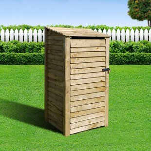 Stanardsville 6 Ft. x 3 Ft. Log Store by Lynton Garden