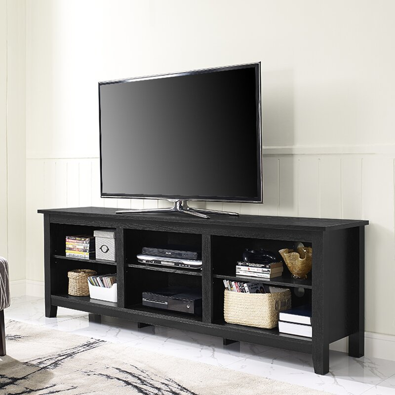"""Sunbury 70"""" TV Stand with optional Fireplace & Reviews"""