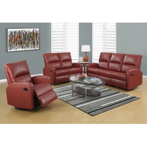 Configurable Living Room Set by Monarch Specialties Inc.