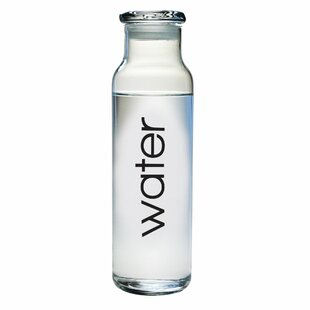 7feeee4a7a6 Glass Water Bottle With Lid | Wayfair