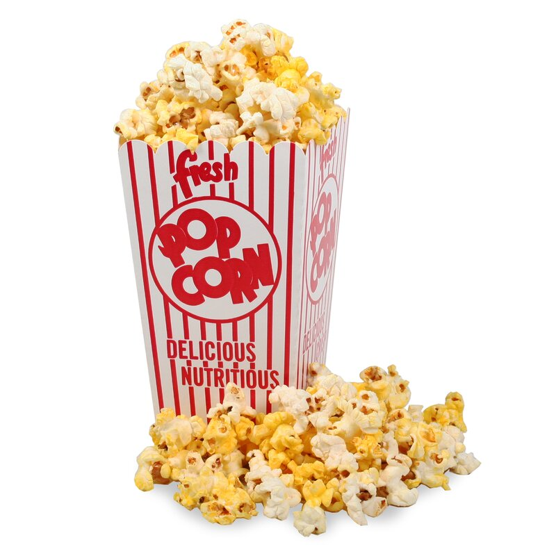 Great Northern Popcorn Movie Theater Popcorn Box With Open Top Enchanting Decorative Popcorn Boxes