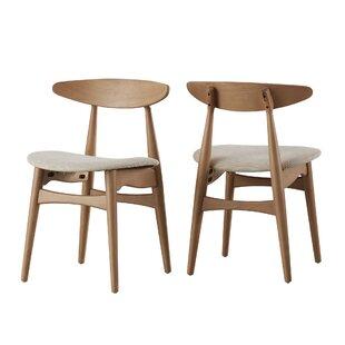 Brilliant Modern Contemporary Modern Wood Dining Chair Allmodern Machost Co Dining Chair Design Ideas Machostcouk