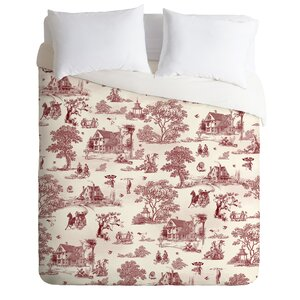 Vintage Sunday Afternoon Duvet Cover Set
