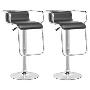 Adjustable Height Swivel Bar Stool (Set of 2) by CorLiving