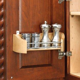 Delightful Cabinet Door Mount Storage Tray