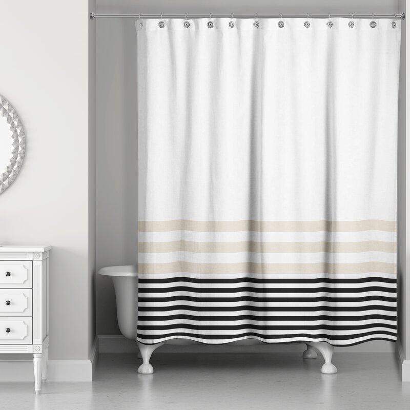 Qu Stripes Shower Curtain