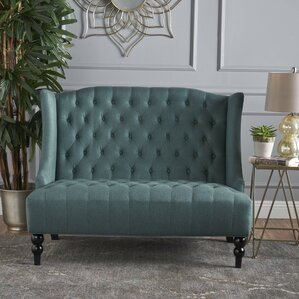 Carolina Traditional Standard Loveseat by House of Hampton