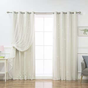 Polka dot curtains drapes you 39 ll love wayfair for Thermal star windows