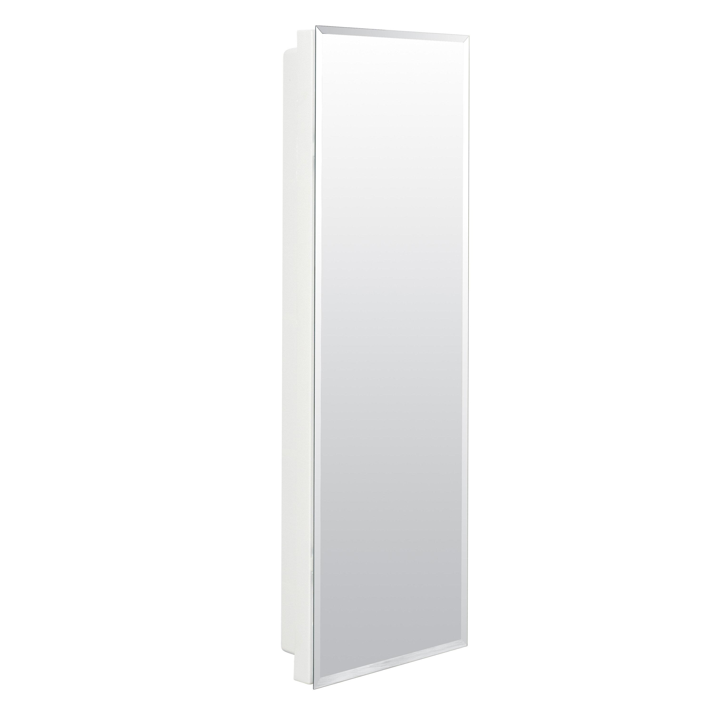 Brilliant Ginnifer 12 X 36 Recessed Medicine Cabinet With 4 Adjustable Shelves Download Free Architecture Designs Pendunizatbritishbridgeorg