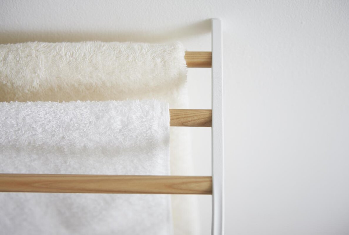 gorgeous bathroom racks towel wall of bars mounted furniture rack best along chic with