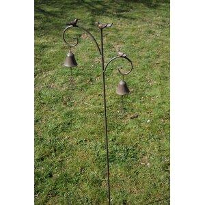 Three Bird/Bell Ornamental Garden Stake