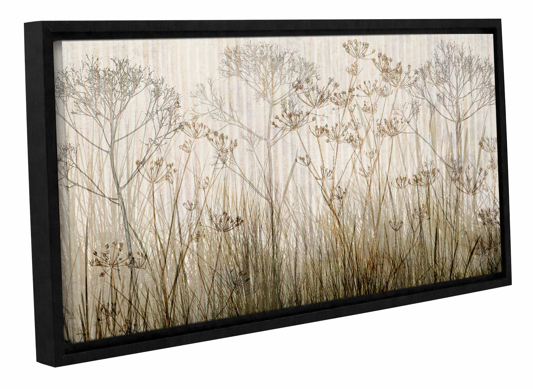 Artwall wayfair wildflowers mutli colored by cora niele framed graphic art on canvas jeuxipadfo Images