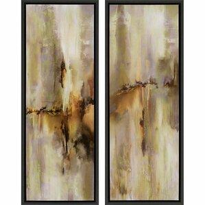 Framed Wall Art Set Of 2 framed wall art set of 6 | wayfair