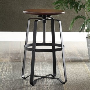 Belfield Adjustable Height Swivel Bar Stool